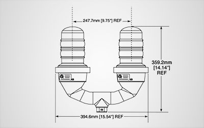 L-810 Single & Dual Obstruction Lights