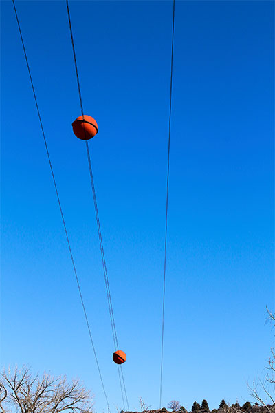 RedBall Powerline Marker