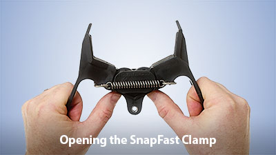 Opening the SnapFast Clamp