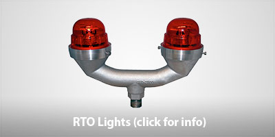 SunPOWR RTO Solar Powered Obstruction Lights